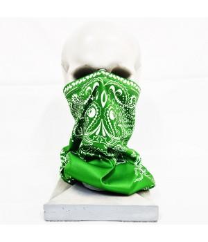 """Бандана-труба """"Огурцы"""" зеленая"""