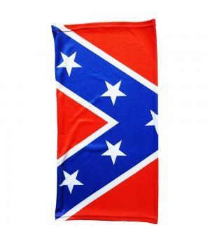 """Бандана-труба """"Флаг Конфедерации"""""""