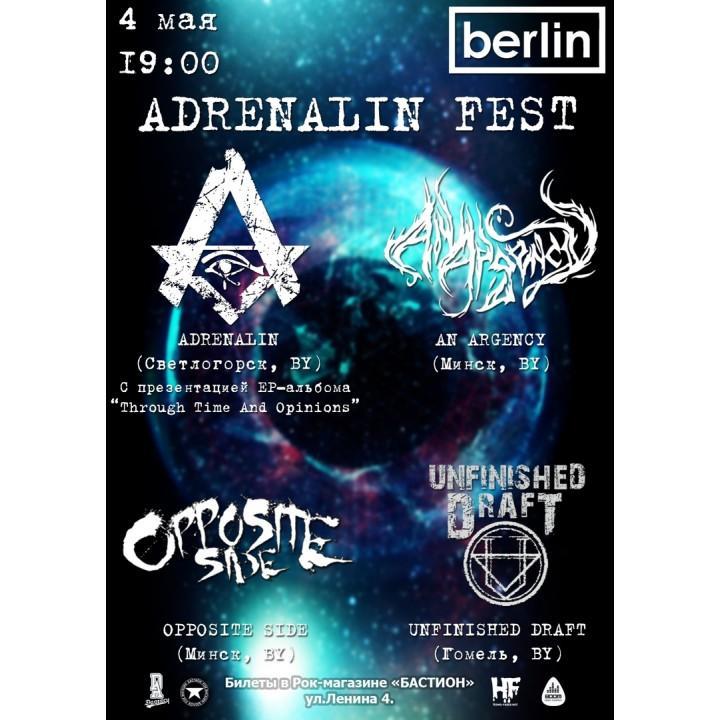 Adrenalin Fest в Минске (фирменный билет)