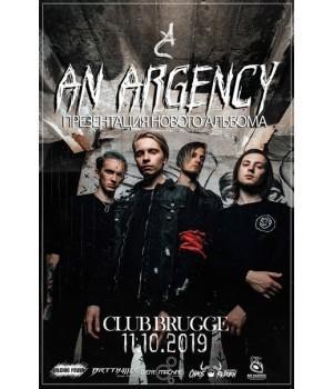 An Argency 11 октября 2019 Клуб «Брюгге» Минск (фирменный билет)