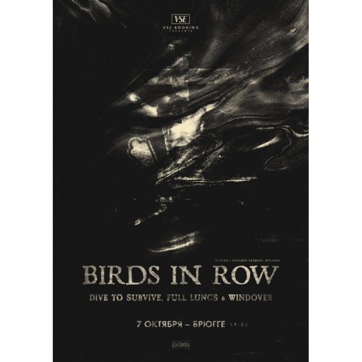Birds In Row в Минске (фирменный билет)