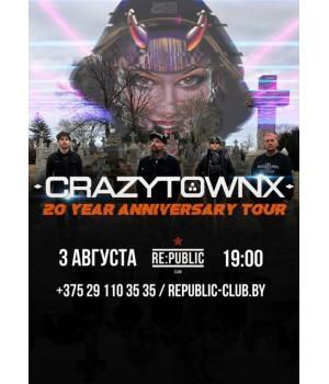 Crazy Town 3 августа 2019 Клуб «RE:PUBLIC» Минск (фирменный билет)