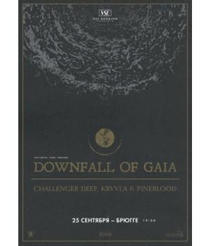 Downfall Of Gaia 25 сентября 2019 Клуб «Брюгге» Минск (фирменный билет)