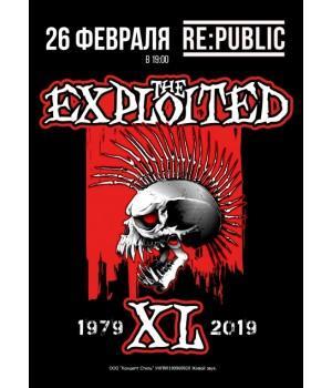The Exploited 26 февраля 2019 Клуб «RE:PUBLIC» Минск