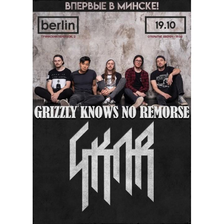 Grizzly Knows No Remorse в Минске (фирменный билет)