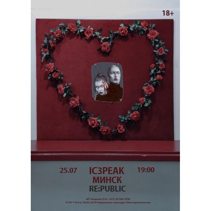 IC3PEAK в Минске (фирменный билет)