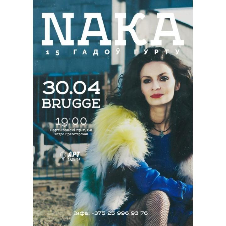 Naka в Минске (фирменный билет)