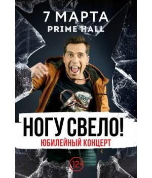 Ногу свело 7 марта 2019 «Prime Hall» Минск (фирменный билет)