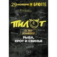 ПилОт 29 ноября 2019 Клуб «Брюгге» Минск (фирменный билет)