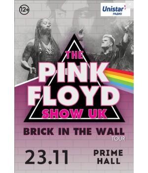 Pink Floyd шоу-трибьют 23 мая 2019 Клуб «Брюгге» Минск (фирменный билет)