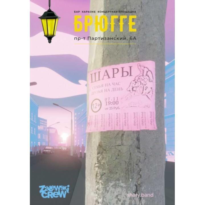 Шары в Минске (фирменный билет)