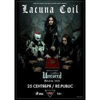 Lacuna Coil 6 ноября 2020 Клуб «RE:PUBLIC» Минск
