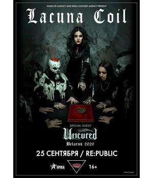 Lacuna Coil 6 июня 2021 Клуб «RE:PUBLIC» Минск