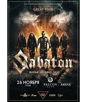 Sabaton 26 ноября 2020 «Prime Hall» Минск