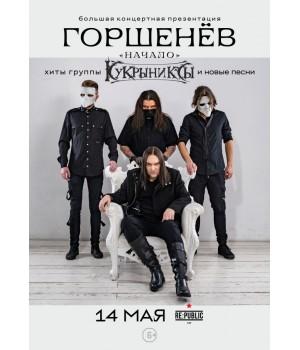Горшенев 11 октября 2020 Клуб «RE:PUBLIC» Минск (фирменный билет)