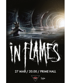 In Flames 2021 «Prime Hall» Минск