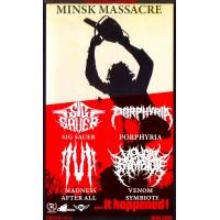 Minsk Massacre 10 апреля 2020 Бар «Граффити» Минск (фирменный билет)