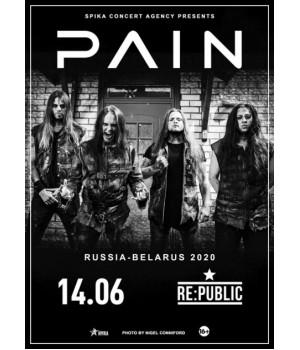 Pain 11 июня 2020 Клуб «RE:PUBLIC» Минск