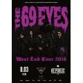 The 69 Eyes 8 марта 2020 Клуб «RE:PUBLIC» Минск