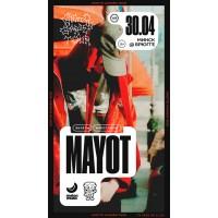 MAYOT 30 апреля 2021 Клуб «Брюгге» Минск (фирменный билет)