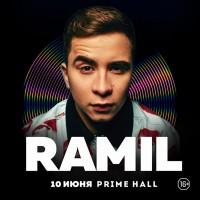 Ramil 10 июня 2021 «Prime Hall»  Минск (фирменный билет)