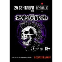 The Exploited 25 сентября 2021 Клуб «RE:PUBLIC» Минск