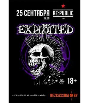 The Exploited 27 сентября 2021 Клуб «RE:PUBLIC» Минск