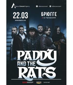 Paddy and the Rats 22 марта 2022 Клуб «Брюгге» Минск