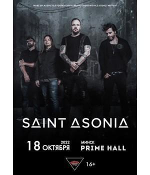 Saint Asonia 18 октября 2022 «Prime Hall» Минск
