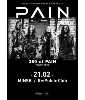 Pain 21 февраля 2022 Клуб «RE:PUBLIC» Минск