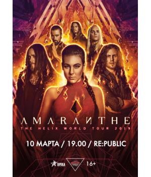 Amaranthe 10 марта 2019 Клуб «RE:PUBLIC» Минск