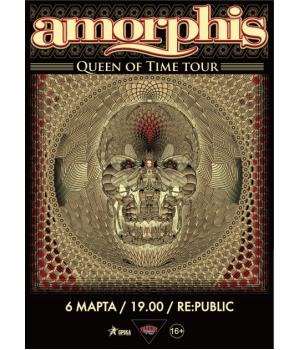 Amorphis 6 марта 2019 Клуб «RE:PUBLIC» Минск