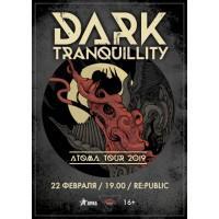 Dark Tranquillity 6 марта 2019 Клуб «RE:PUBLIC» Минск