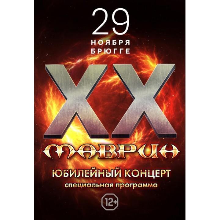 Маврин в Минске (фирменный билет)