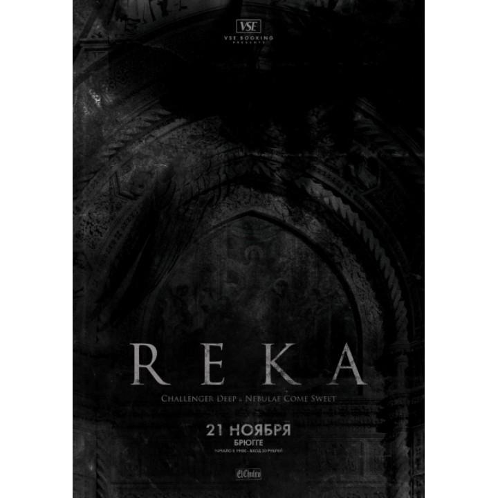 Reka в Минске (фирменный билет)