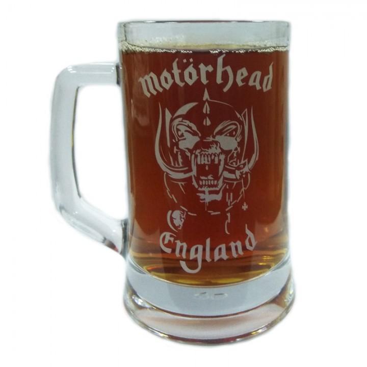 """Пивная кружка """"Motorhead"""" (884)"""