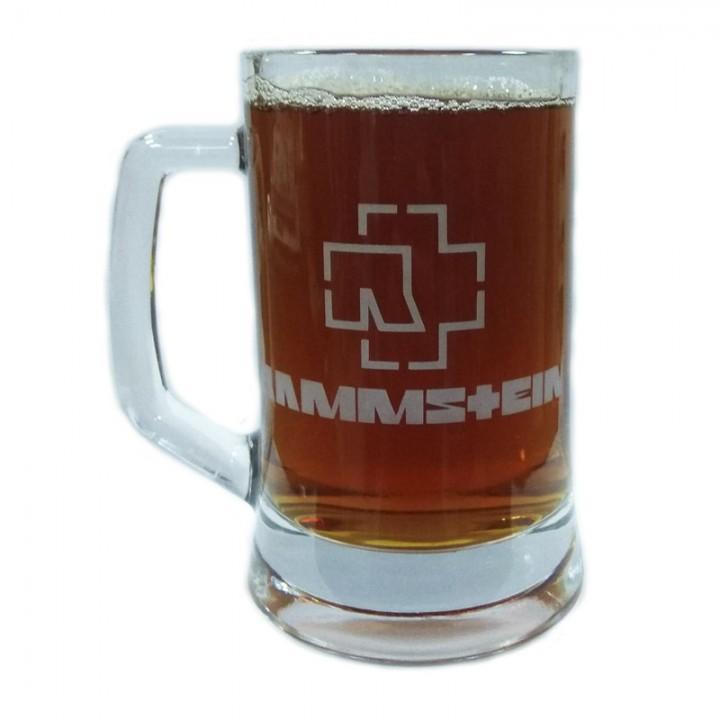 """Пивная кружка """"Rammstein"""" (873)"""