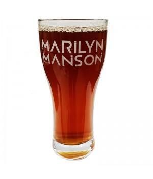 "Бокал пивной ""Marilyn Manson"""