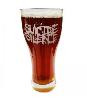 """Бокал пивной """"Suicide Silence"""""""