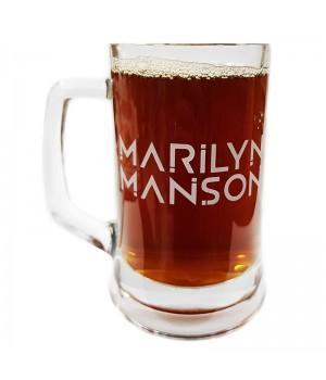 """Пивная кружка """"Marilyn Manson"""""""