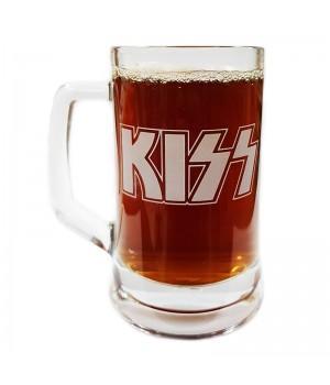 "Пивная кружка ""Kiss"""