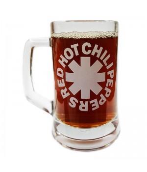 "Пивная кружка ""Red Hot Chili Peppers"""
