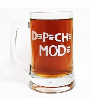 "Пивная кружка ""Depeche Mode"""