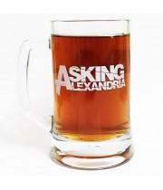 """Пивная кружка """"Asking Alexandria"""""""