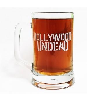 "Пивная кружка ""Hollywood Undead"""