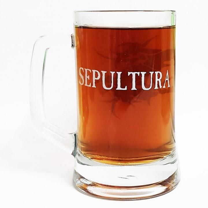 """Пивная кружка """"Sepultura"""" (15200)"""