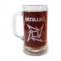 """Пивная кружка """"Metallica"""""""