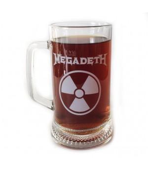 """Пивная кружка """"Megadeth"""""""