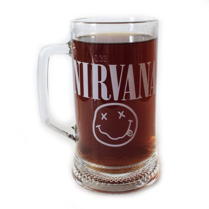 """Пивная кружка """"Nirvana"""" (883)"""