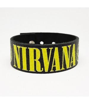 """Браслет """"Nirvana"""" кожаный"""